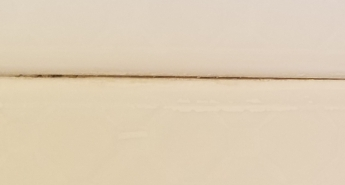 Space between tiles